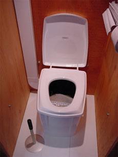 Alternatief Voor Chemisch Toilet.Op De Camping Of In Het Tuinhuis